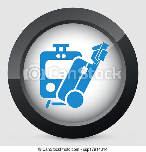 Train icon - csp17914314