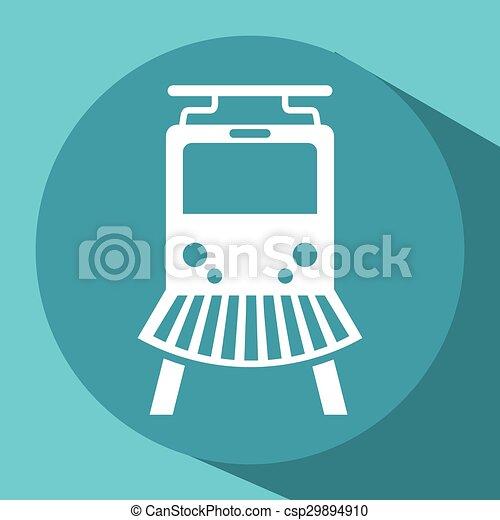 train icon - csp29894910