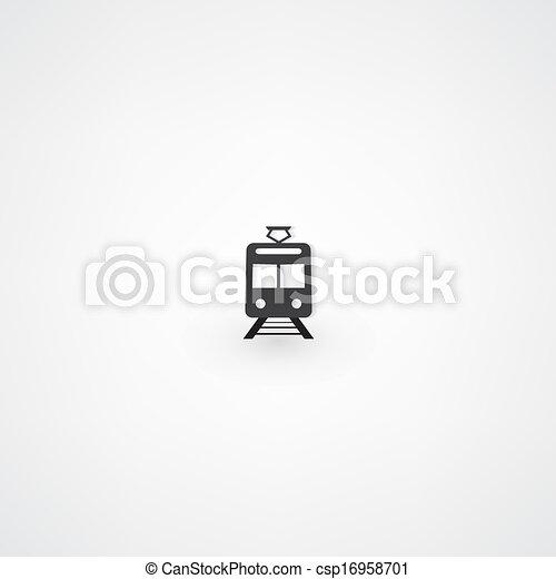 Train Icon - csp16958701