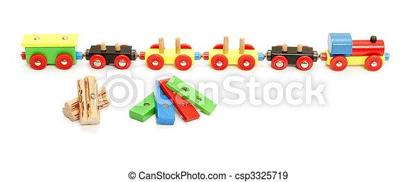 train jouet - csp3325719