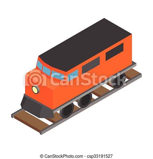 Train locomotive transportation railway - csp33191527
