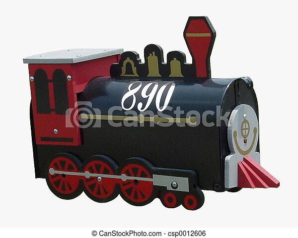 Train Mailbox - csp0012606