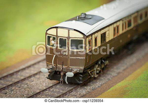 train modèle, voiture - csp11239354