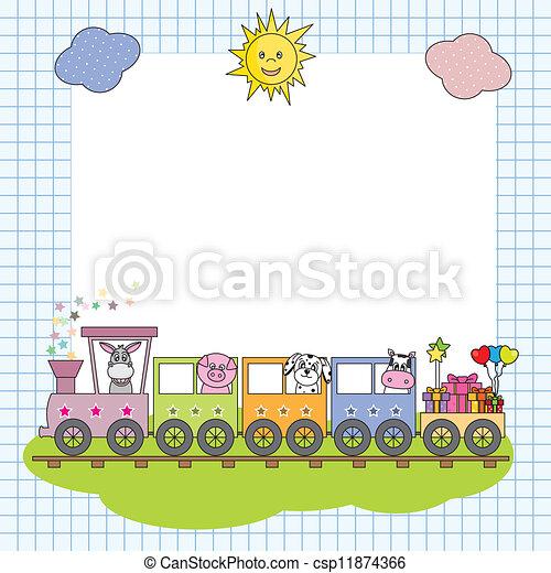 train, monture - csp11874366