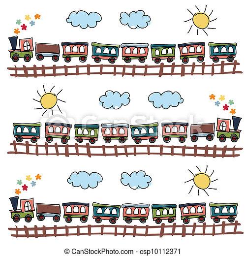 train pattern - csp10112371