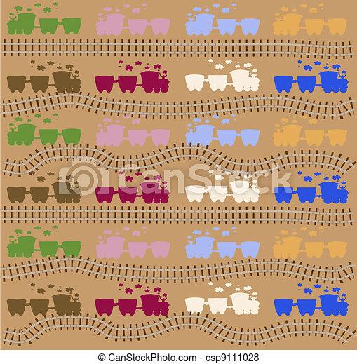 train pattern vector - csp9111028