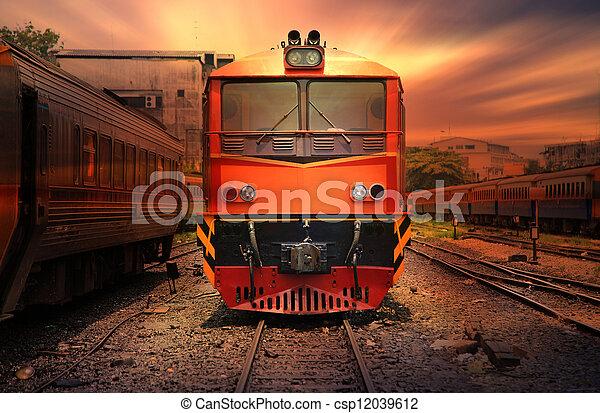 Train - csp12039612