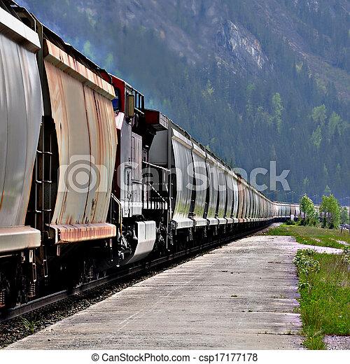 train., rakomány - csp17177178