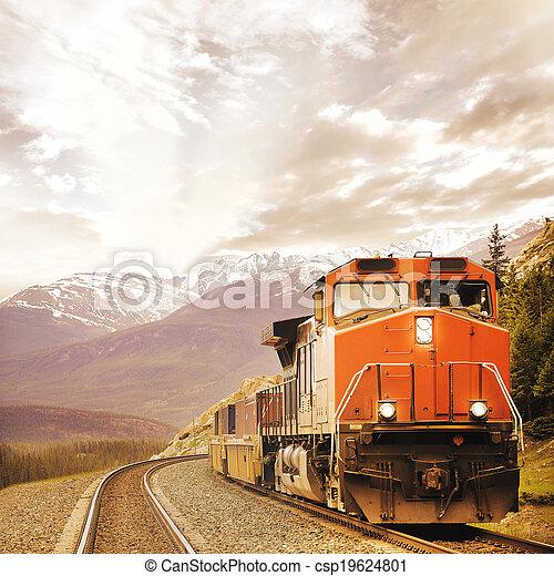 train., rakomány - csp19624801