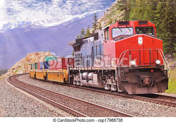 train., rakomány - csp17988738