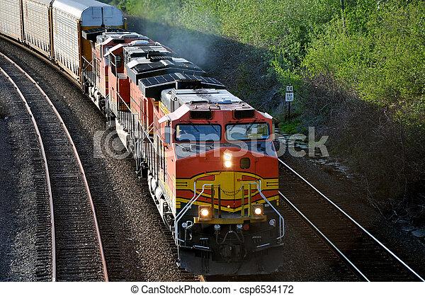 train., rakomány - csp6534172