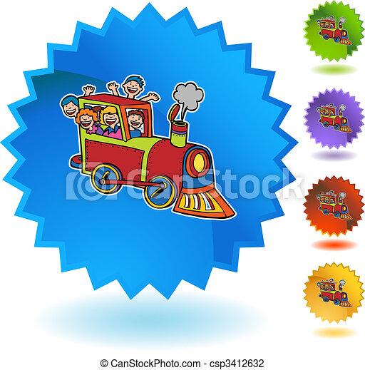 Train Ride - csp3412632