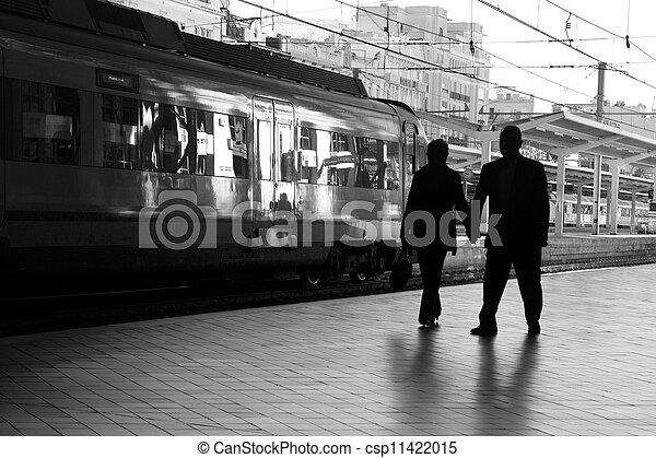 Train Station - csp11422015