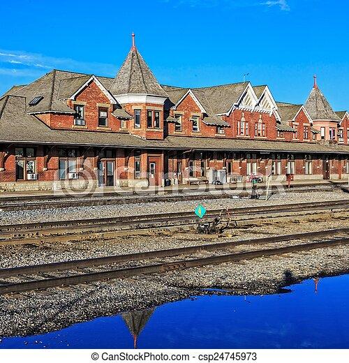 Train Station - csp24745973