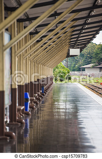 Train station - csp15709783