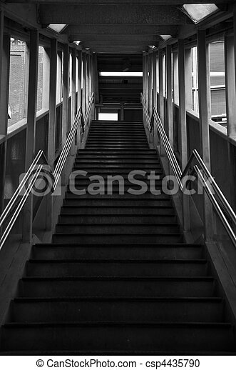 Train Station Stairs - csp4435790