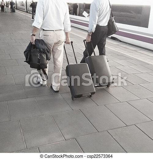 Train Station - csp22573364