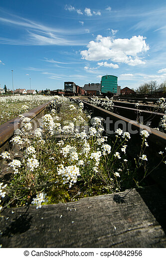 Train station - csp40842956