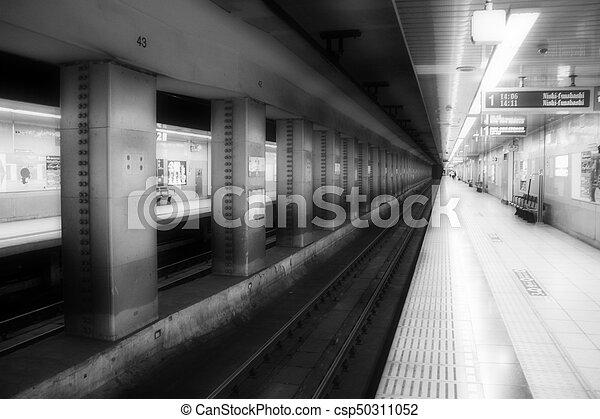 Train Station - csp50311052