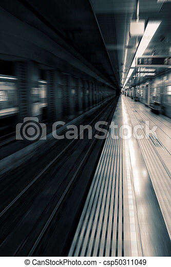 Train Station - csp50311049