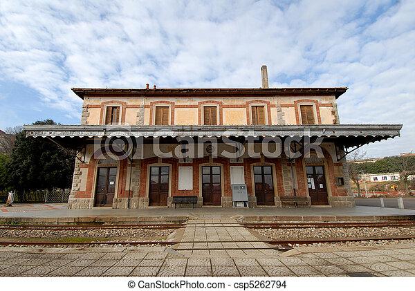 Train Station - csp5262794