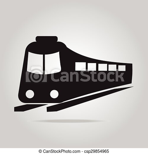 Train symbol icon - csp29854965