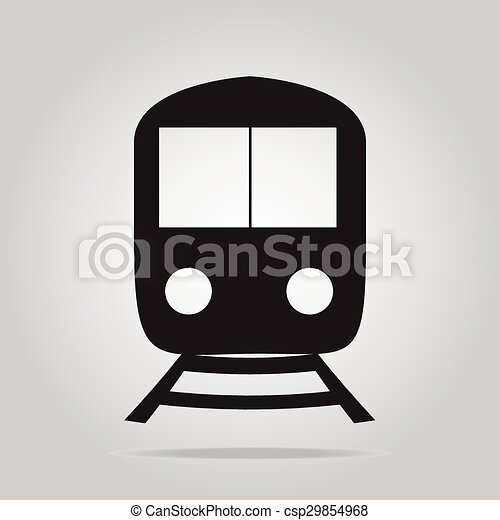 Train symbol icon - csp29854968