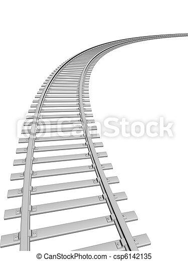 Train track - csp6142135
