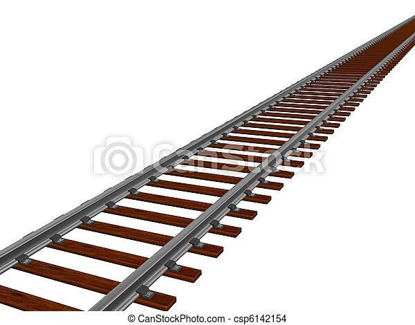 Train track - csp6142154