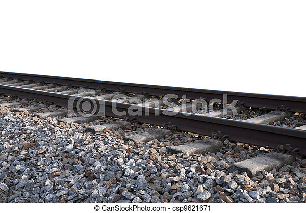 Train tracks - csp9621671