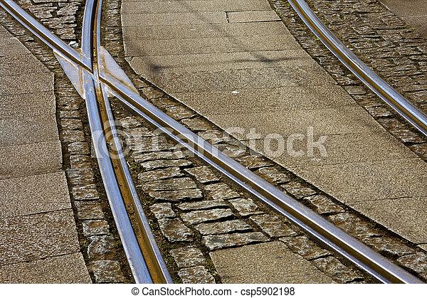 train tracks - csp5902198