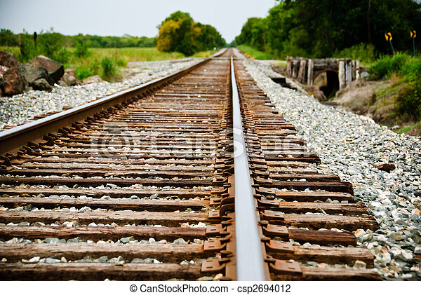 Train Tracks - csp2694012