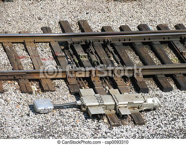 train tracks - csp0093310