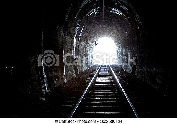 Train Tunnel - csp2686184