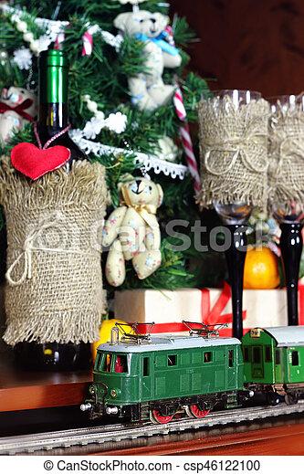 train under tree gift - csp46122100