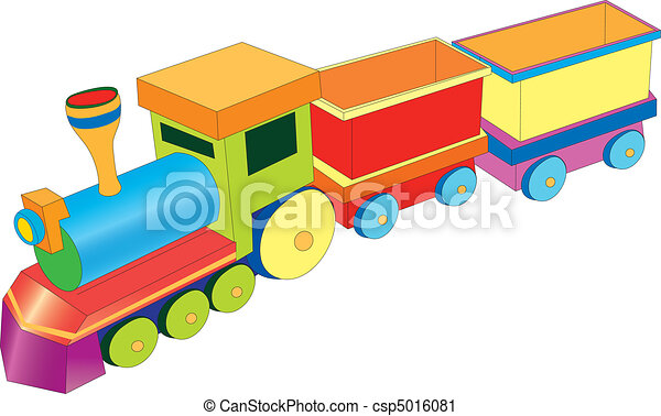 vectors color illustration shows a toy train vector clip art rh canstockphoto com train vector free download train vector graphic