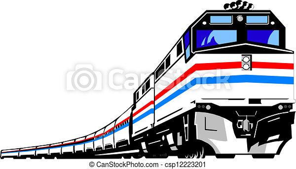 Train - csp12223201