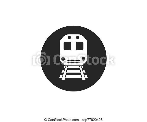 train vector icon illustration design - csp77820425