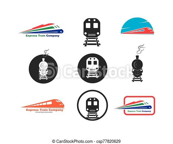 train vector icon illustration design - csp77820629