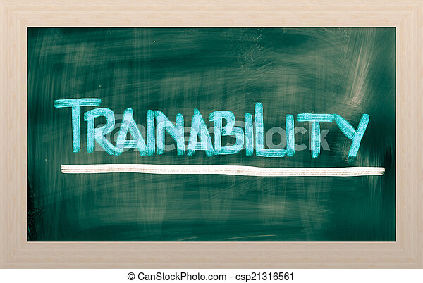 Trainability Concept - csp21316561