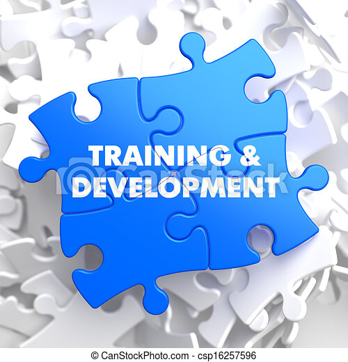 Training and Development. Educational Concept. - csp16257596