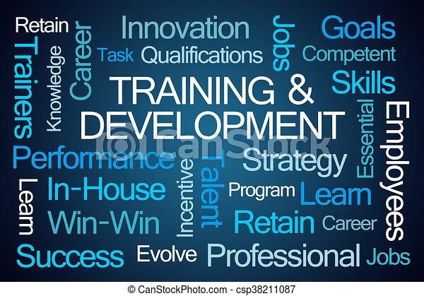 Training and Development Word Cloud - csp38211087