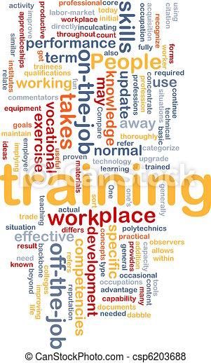 Training background concept - csp6203688