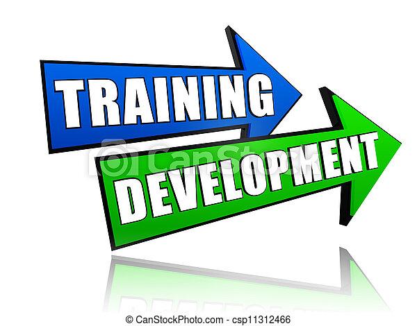 training development in arrows - csp11312466