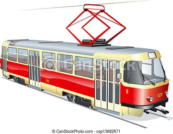 Tram - csp13682671