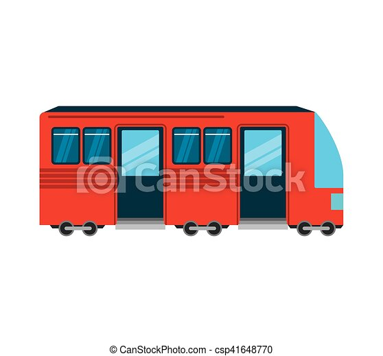 tram public transport icon - csp41648770