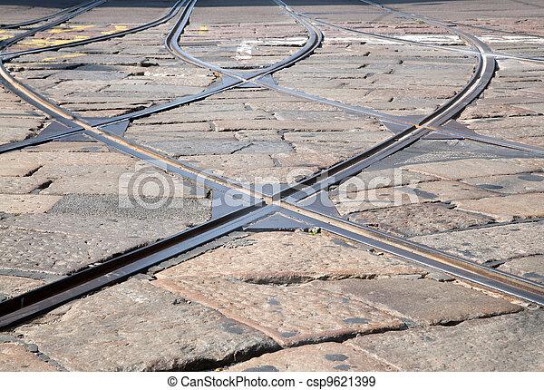 Tram tracks  - csp9621399