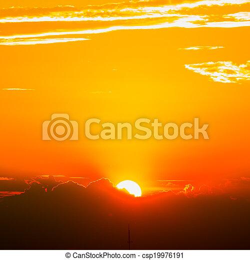 tramonto - csp19976191