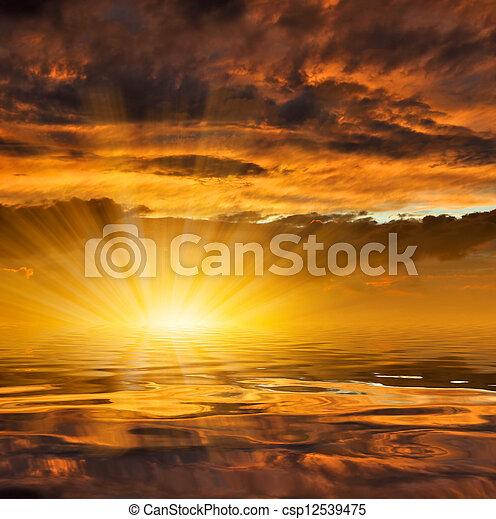 tramonto - csp12539475
