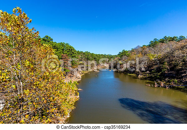 Tranquil Outdoor Scene in Oklahoma - csp35169234